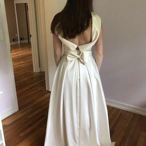 Cache Open Back Wedding Dress
